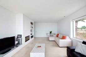 how to decorate a long narrow living room with fireplace on side