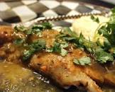blackened fish with salsa verde  low carb