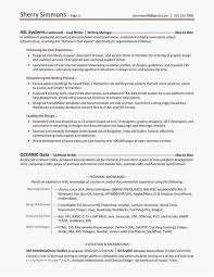 First Job Resume Template Luxury 47 Free Job History Resume Examples