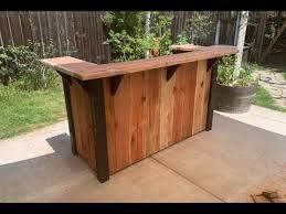 outdoor patio bar diy outdoor living