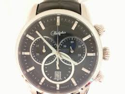 belair watches watches fine jewelry by christopher s fine belair swiss wrist watch stainless steel chronograph