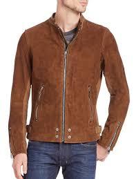 sel men s edgeamer suede jacket