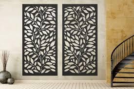 metal wall decor laser cut panels