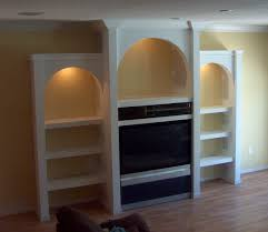 Built In Drywall Shelves Wall Units