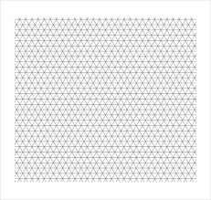 Graph Paper Free Printable Isometric Graph Paper 12 Download Free Documents In Pdf