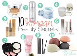 korean beauty secrets top 10 s