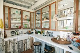 Barn Wood Kitchen Cabinets Reclaimed Wood Kitchen Cabinets Waldooxyz