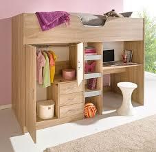 Bourne HIGH SLEEPER CABIN BED - Cabin Bed complete, except mattress Oak  M1610 and Oak