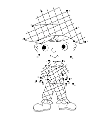 Giochi Di Carnevale Per Bambini Unisci I Puntini Arlecchino