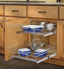 Pull Out Kitchen Storage Kitchen Cabinet Organizer Pull Out Sliding Metal Pot Storage 2