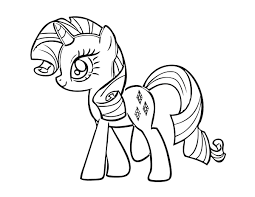 Small Picture Free Printable My Little Pony Coloring Pages For Kids Throughout