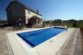 signature pools grand elegance model pool from leisure pools built in lemont il