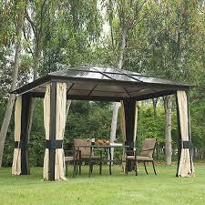 gazebos garden structures shade yard garden outdoor living patio gazebos and canopies