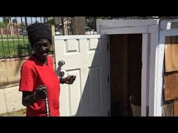 Small Picture California Man Builds TINY HOUSE For HOMELESS Woman SLEEPING In