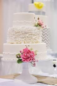 White Ruffly 3 Tier Wedding Cake By The Sweet Side 1919782 Weddbook