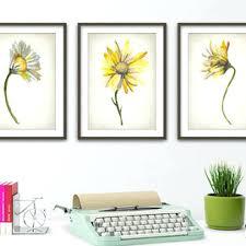 wall arts daisy wall art nursery flower canvas peach decor ideas oopsy