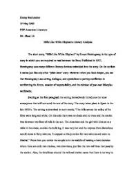 hills like white elephants essay theme analysis of hills like white elephants essay 1049 words bartleby