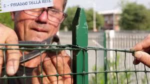 Recinzioni Da Giardino In Metallo : Rete da recinzione in plastica installazione per l hobbista