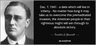 Pearl Harbor Quotes 36 Inspiration TOP 24 PEARL HARBOR ATTACK QUOTES AZ Quotes