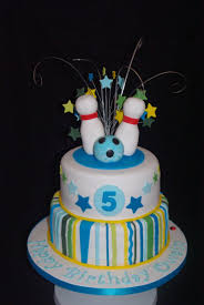 Ten Pin Bowling Cake Decorations Ten Pin Bowling Cake Parties Pinterest Cake Birthday cakes 2
