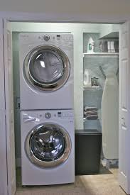 Color and bubbles using TP roll Laundry room makeover stackable washer and  dryer