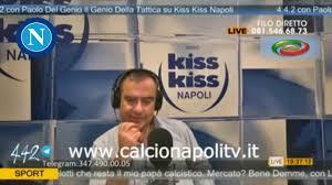 Paolo Del Genio Napoli Perugia 2 0 4-4-2 Radio Kiss Kiss