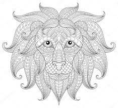 Kleurplaten Dieren Leeuw