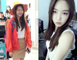 minah minah profile minah no makeup kpop idol no makeup