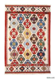 multicolor new turkish kilim area rug