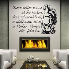 Wandtattoos Zitat Buddha Wandaufkleber Spruch Xxl Von Druckundplotde