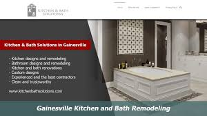 Gainesville Kitchen And Bath Remodelers  Kitchen Bath Solutions - Kitchen and bath remodelers