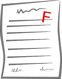 failed paper clip art at clker com vector clip art online