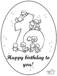 Uitstekend 44 Kleurplaten Verjaardag Oa Voor Mama Papa Opa En