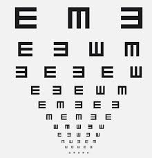 Free Printable Near Vision Chart 55 Accurate Eyesight Checking Chart