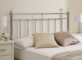 Calm Color Simple Headboards For Double Bed Plus Soft Pillows Near Headboards Double Bed