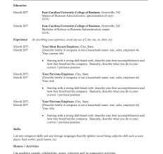 College Student Resume Example Simple Extraordinary Resume Examples College Student No Experience On Cool