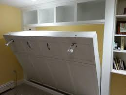 white queen size murphy bed