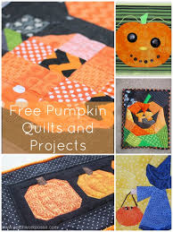 Free Pumpkin Quilt Patterns and Projects & Pumpkin Quilt Tutorials and Projects: Adamdwight.com