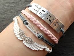 Inspirational Quotes Bracelets Inspiration Inspirational Quotes Bracelets Bakergalloway Charming Quotes