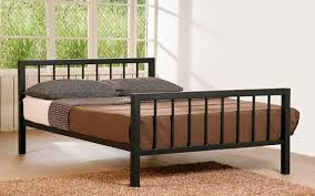 Strong and Durable Iron Bed Frames King for Modern Design ...