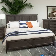 Magnussen Harrison Bedroom Furniture Talbot Wood Panel Bed In Driftwood By Magnussen Home Humble Abode