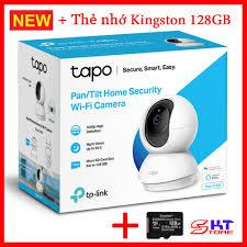 Camera Wifi Tp-Link Tapo C200 + Thẻ nhớ Kingston microSD Canvas Select Plus  16GB / 32GB / 64GB / 128GB - Hàng Chính Hãng tại TP. Hồ Chí Minh