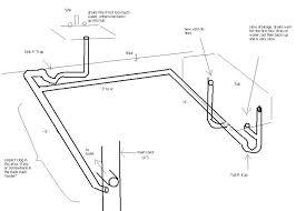 bathtub rough in shower drain plumbing diagrams bidet plumbing diagrams bathtub rough in drain