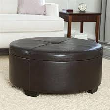 round leather coffee table ottoman living coffee table storage ottoman round black leather tufted ottoman coffee table