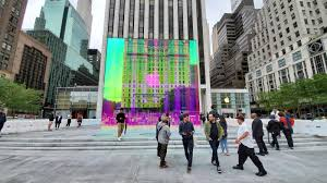 Designed By Apple Commercial Apple Store On Fifth Avenue Will Re Open Soon With A Rainbow