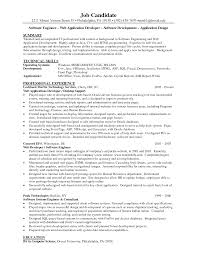 Sample Developer Resume It Developer Experienced Yralaska Com
