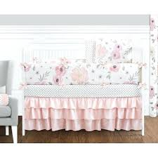 watercolor bedding watercolor crib set