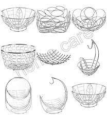 Decorative Metal Fruit Bowls Metal Fruit Bowl eBay 16