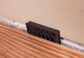 how to install laminate flooring around walls