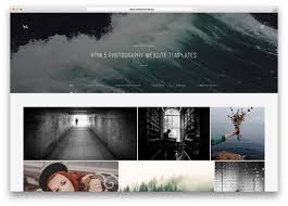 Photography Websites Templates Top 24 HTML24 Photography Website Templates 2417 Colorlib 1